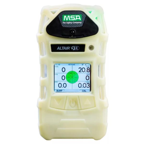 Газоанализатор ALTAIR 5X, PEN-O2-CO-H2S-CH4 (0-100%), фосф. корпус, черный кейс, цв. дисплей, с поверкой