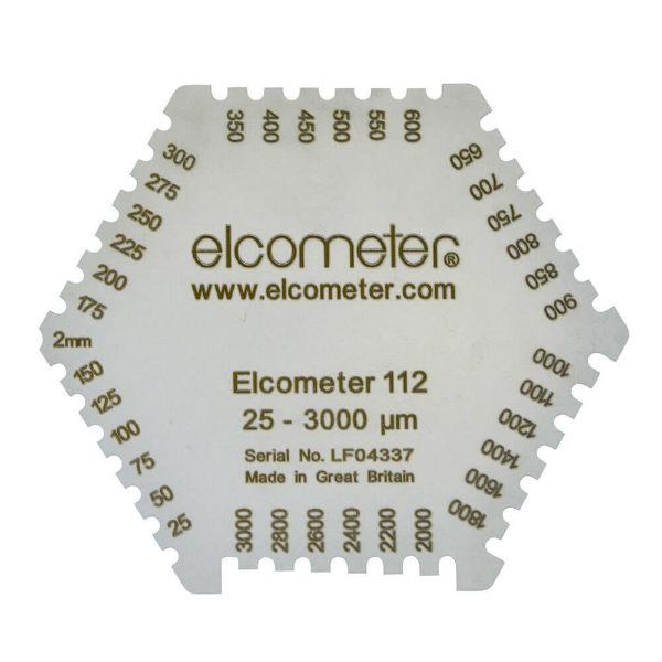 Гексагональная гребенка для измерения толщины мокрого слоя Elcometer 112