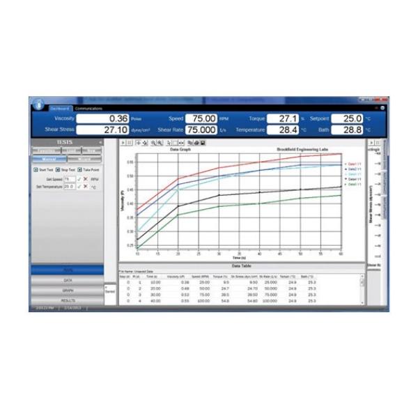 Программное обеспечение Brookfield RheocalcT (для DV2T / DV3T)