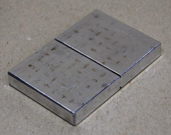 Алюминиевый блок в соответствии с ASME (070С001)
