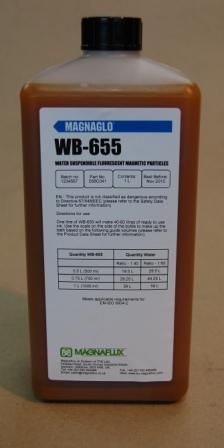 Люминесцентный магнитный концентрат Magnaglo WB-655, 5л.