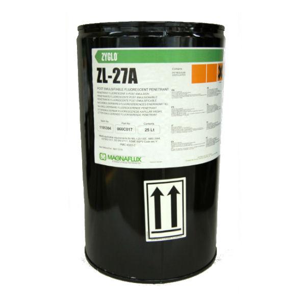 Люминесцентный постэмульгируемый пенетрант Magnaflux ZYGLO ZL-27A, 25 л