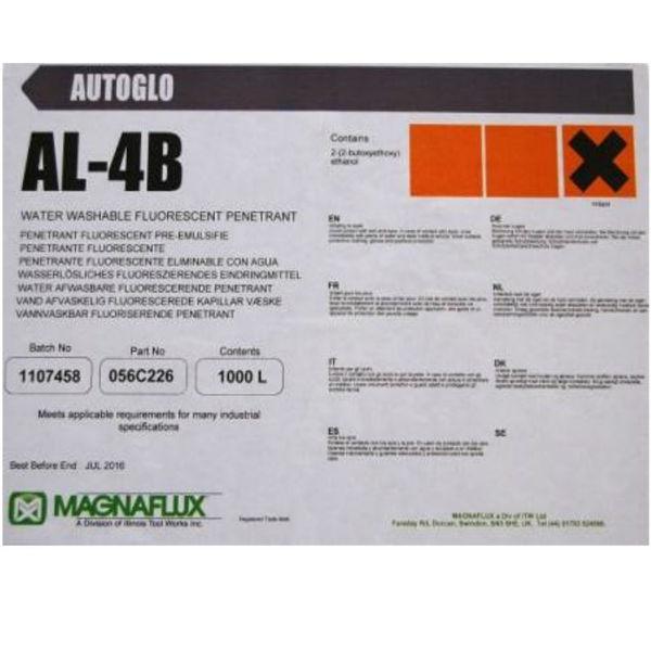 Люминесцентный водосмываемый пенетрант Magnaflux Zyglo AL-4B, 1000 л
