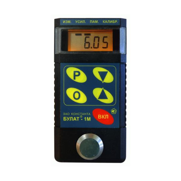 Ультразвуковой толщиномер «Булат 1М»с П112-10-6/2-А-01 и П112-5-10/2-А-01