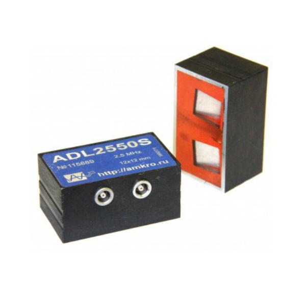 ADL25xxS наклонные р/с преобразователи продольных волн 2,5 МГц