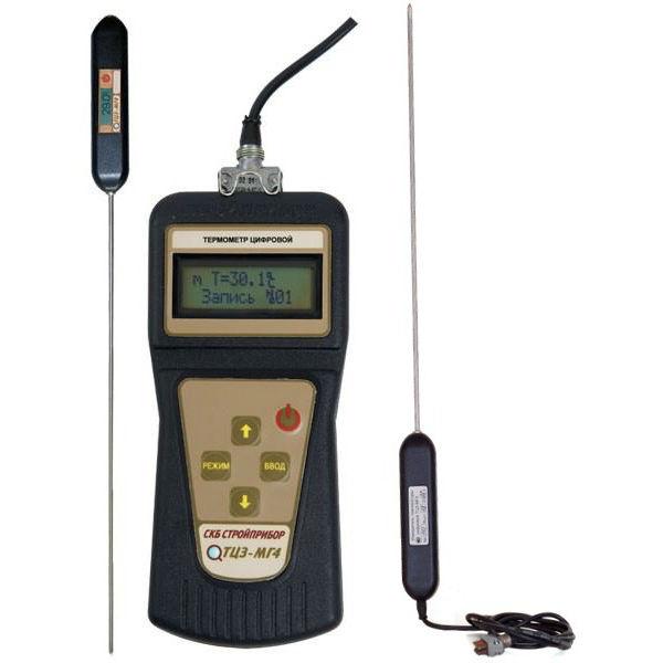 Термометр цифровой зондовый ТЦЗ-МГ4.05