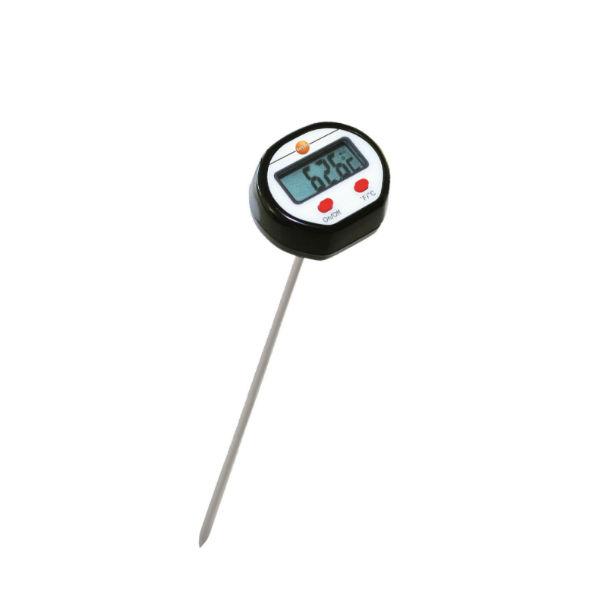 Проникающий мини-термометр с удлиненным измерительным наконечником