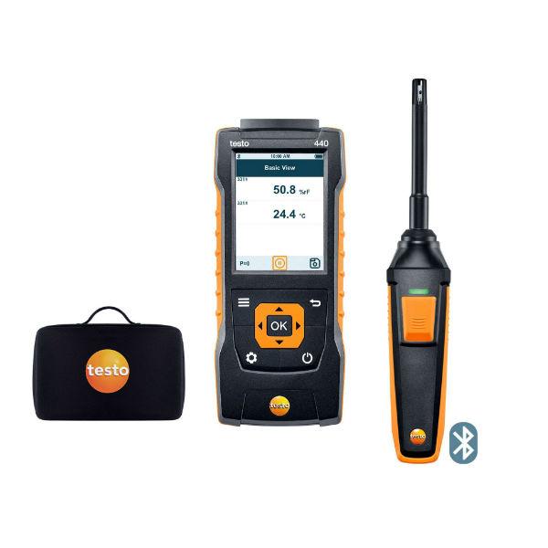 Комплект влажности testo 440 с Bluetooth (0563 4404)