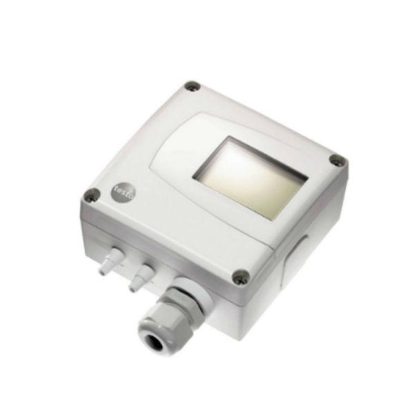 testo 6321 трансмиттер дифференциального давления для оптимизации микроклимата зданий