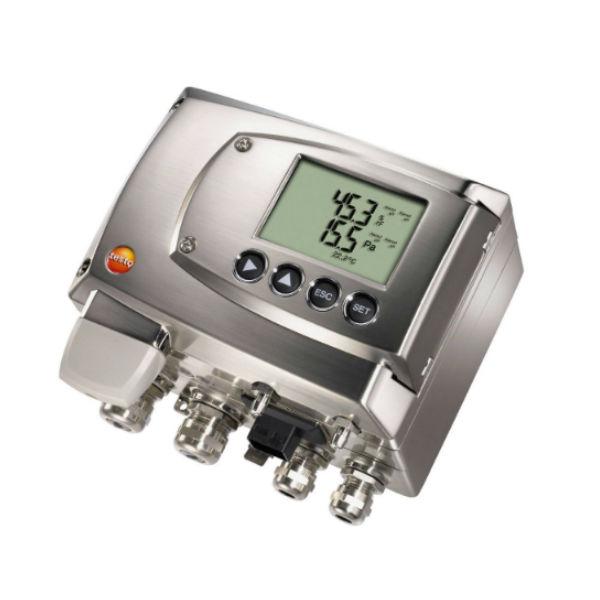testo 6381 трансмиттер дифференциального давления для установки в нормальных зонах (0555 6381)