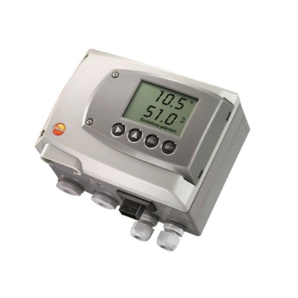 testo 6651 трансмиттер температуры/влажности для критических условий окружающей среды (0555 6651)