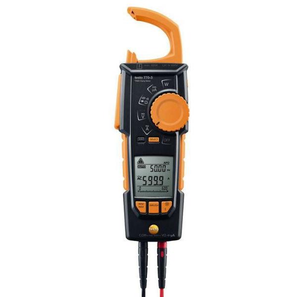 Токоизмерительные клещи testo 770-3 с Bluetooth