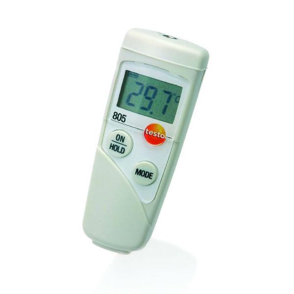 Карманный инфракрасный мини-термометр testo 805 (0560 8051)