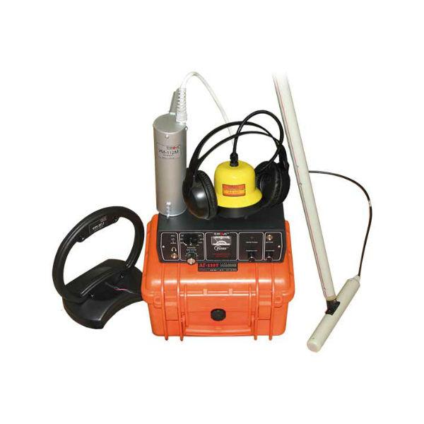 Трассотечеискатель Атлет ТЭК-120ТУЗ для диагностики неметаллических и металлических трубопроводов