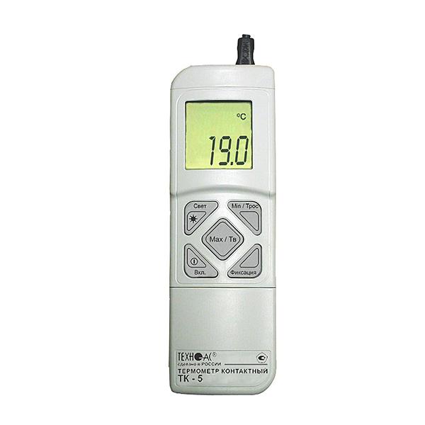 Термогигрометр ТК-5.06 с функцией измерения относительной влажности воздуха и температуры точки росы