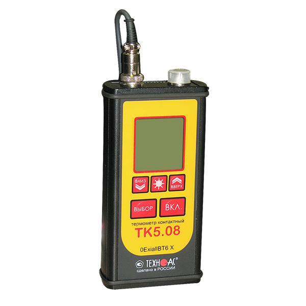 Термометр контактный ТК-5.08 с функцией измерения относительной влажности (взрывозащищенный)