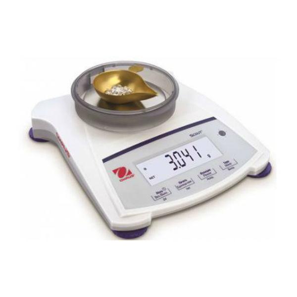 Весы ювелирные электронные OHAUS SJX323