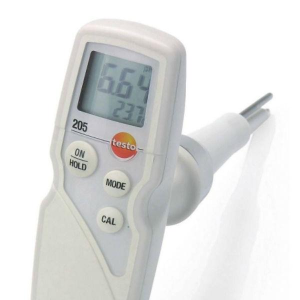 Портативный pH-метр testo 205