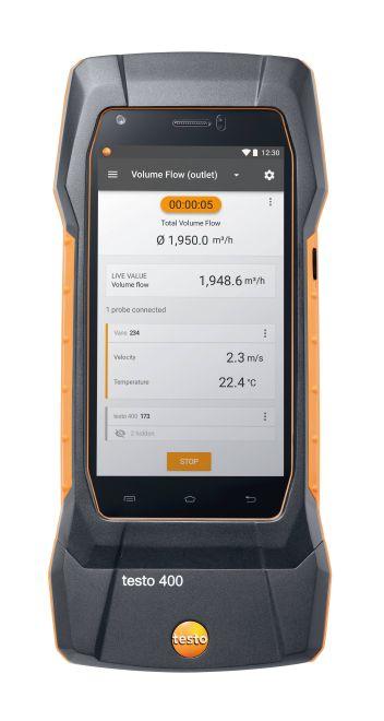 Универсальный измерительный прибор для контроля микроклимата testo 400 (0560 0400)